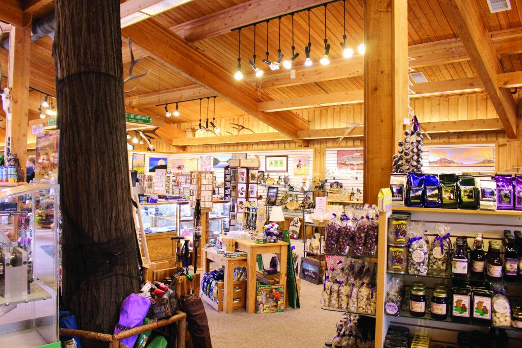 Cedar Tree Gift Shop is the busiest store in massive Glacier ...