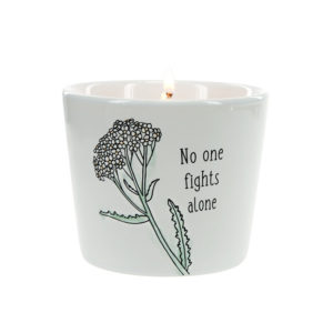 No One Fights Alone Candle by Pavilion